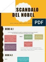 El Escandalo Del Nobel