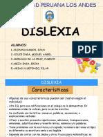 La Dislexia Trabajo
