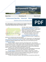 Pa Environment Digest June 18, 2018