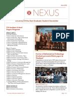 UEGS Student Newsletter June2018