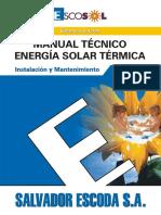 Manual Tecnico Energia Solar Termica - Inst. y Mantenimiento-Escosol.pdf