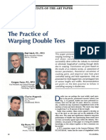 The Practice of Warping Double Tees