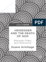Armitage, Duane - Heidegger and the Death of God. Between Plato and Nietzsche
