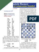 8- Karpov vs. Polugaevsky