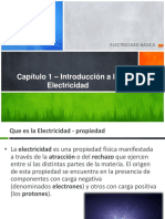 Capitulo 1 Introducción Electricidad