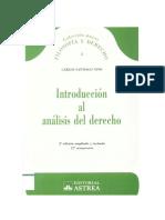 Introduccion Al Analisis Del Derecho - Carlos Santiago Nino