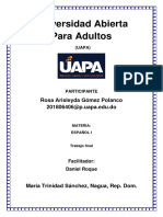 Trabajo Final Español 1 (Arisleyda