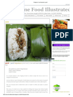 Philippine Food Illustrated_ Pastil