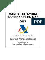 Manual de Ayuda Sociedades en Mac 2007