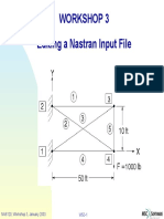 WS03 Edit Nastran File