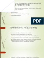Medidas de Controle( Biossegurança e Isolamento Respiratório)