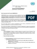 Normas de Procedimiento SIMONUELIQ 2018 (1)