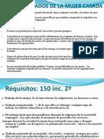 9.- Patrimonio Reservado de La Mujer.