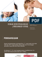 Prolonged Fever referat anak by fixxx.ppt