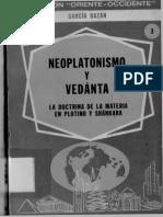 Garcia Bazan - Neoplatonismo y Vedänta