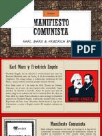 Ayudantía sobre el Manifiesto Comunista de Marx y Engels