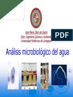 Analisismicrobiologico de Aguas