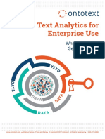 White Paper Text Analytics for Enterprise Use