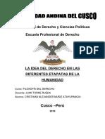 Monografia La Idea Del Derecho