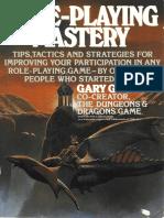 Role Playing Mastery - Gary Gygax.pdf