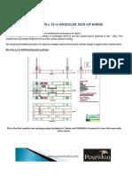 POSEIDON 30 x 14 m Modular Jack-up Barge