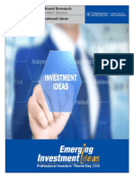 Emerging Investment Ideas Post-Conference Notes