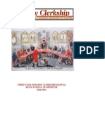 Surgery Clerkship Manual