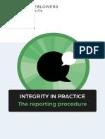HvK Integrity in Practice Reporting Procedure