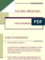 Etapas Del Proceso-Fase Intermedia