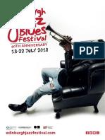 2018 Edinburgh Jazz and Blues Festival Programme