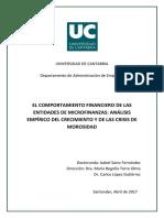 El comportamiento financiero de las entidades de microfinanzas análisis empírico del crecimiento y de la crisis de morosidad.pdf