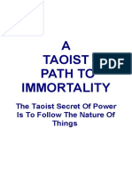 A Taoist Path to Immortality