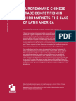 EUROPEAN AND CHINESE TRADE COMPETITION IN THIRD MARKETS