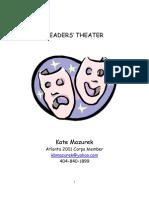 Reader s Theatre Presenting Literature in Dramatic Form