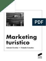 índice Marketing Turístico (A. Escobar, Y. González)