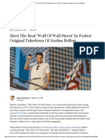 Meet the Real 'Wolf of Wall Street' in Forbes' Original Takedown of Jordan Belfort