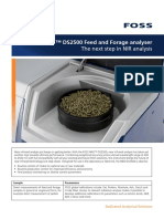 Foss Nirs Ds2500 Feed