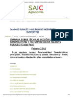 Caminos Rurales i - Colegio de Ingenieros Agronomos