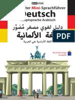 Mini Sprachfuerer Arabisch Deutsch