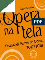 Caderno educativo Ópera