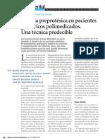 cirugía preprotésica
