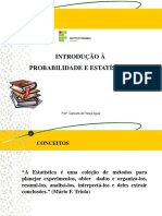 0 Apresentação de Probabiliade e Estatstica (1)