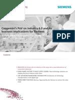 Capgemini PoV on Industry 4.0 Siemens 2014-1