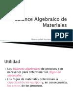 Balance Algebraico de React