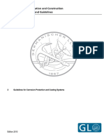 (VI-10-2) Guidelines for Corrosion Protection and Coating Systems (Germanischer Lloyd AG)
