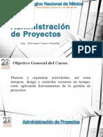 Administración de Proyectos 2016