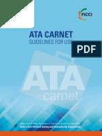 Ata Carnet Guidelines Booklet