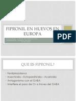 Fipronil en Europa