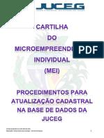 Cartilha Microempreendedor individual MEI