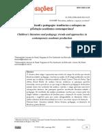 Literatura Infantil e Pedagogia